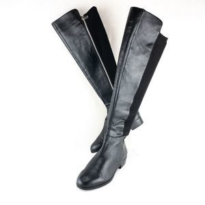 Michael Kors Black Rider Knee high boots Size 6.5